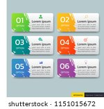 set of infographics banners... | Shutterstock .eps vector #1151015672