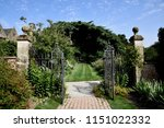 beautiful english parks and... | Shutterstock . vector #1151022332
