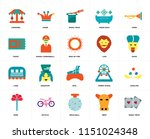 set of 20 icons such as magic...
