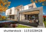 3d rendering of modern cozy... | Shutterstock . vector #1151028428