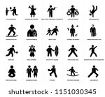 set of 20 simple editable icons ... | Shutterstock .eps vector #1151030345