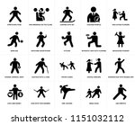 set of 20 simple editable icons ... | Shutterstock .eps vector #1151032112