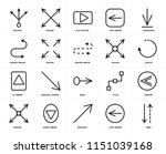 set of 20 icons such as sort ...