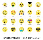 set of 20 icons such as cool ...