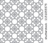 seamless vector pattern in... | Shutterstock .eps vector #1151055575