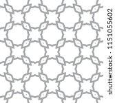 seamless vector pattern in... | Shutterstock .eps vector #1151055602