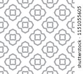 seamless vector pattern in... | Shutterstock .eps vector #1151055605