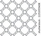 seamless vector pattern in... | Shutterstock .eps vector #1151055608