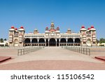 mysore palace  mysore ... | Shutterstock . vector #115106542