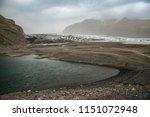 glacier landscape  iceland | Shutterstock . vector #1151072948