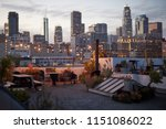 View Of Los Angeles Skyline At...