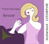 travel  pleasure  entertainment....   Shutterstock .eps vector #1151089148