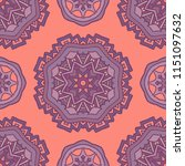 ethnic pattern for fabric.... | Shutterstock . vector #1151097632