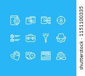 vector illustration of 12... | Shutterstock .eps vector #1151100335