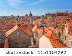 Red Tiled Roofs Of Dubrovnik...