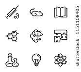 set of black vector icons ... | Shutterstock .eps vector #1151108405