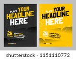 vector layout design template... | Shutterstock .eps vector #1151110772