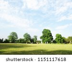 cloudy sky  roads and landscape   Shutterstock . vector #1151117618