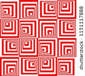 rotating squares pattern   Shutterstock .eps vector #1151117888