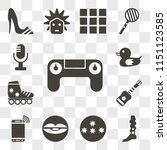 set of 13 simple editable icons ...   Shutterstock .eps vector #1151123585