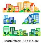 city landscape   Shutterstock . vector #115116802