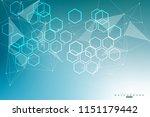 big data visualization... | Shutterstock .eps vector #1151179442