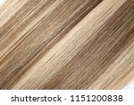 clip in straight brown mixed... | Shutterstock . vector #1151200838