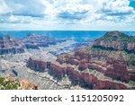 arizona grand canyon north rim... | Shutterstock . vector #1151205092