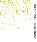 gold on white shiny holiday... | Shutterstock .eps vector #1151210102
