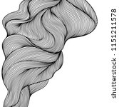 background with wave line curls.... | Shutterstock .eps vector #1151211578