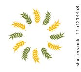 wheat oats logo | Shutterstock .eps vector #1151214458