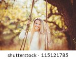 Beautiful Young Happy Woman In...