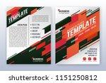 modern business annual report... | Shutterstock .eps vector #1151250812