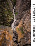 ouray box canyon waterfall    Shutterstock . vector #1151251145