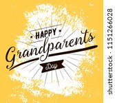 happy grandparents day....   Shutterstock .eps vector #1151266028