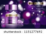 hydrating facial cosmetics... | Shutterstock .eps vector #1151277692
