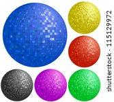 Set Of Disco Balls With...