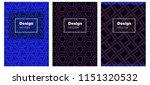 dark blue vector cover for...