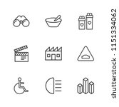 modern simple vector icon set.... | Shutterstock .eps vector #1151334062