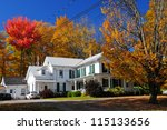 New England Traditional Houses...