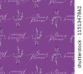 lavender white outline floral...   Shutterstock .eps vector #1151347862
