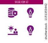 4 resolution icons in vector... | Shutterstock .eps vector #1151353442