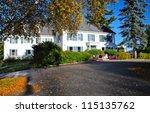 New Hampshire White Cottage  Usa