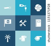 modern  simple vector icon set... | Shutterstock .eps vector #1151371928