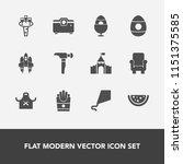 modern  simple vector icon set... | Shutterstock .eps vector #1151375585