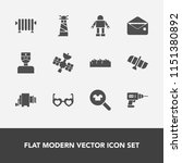 modern  simple vector icon set... | Shutterstock .eps vector #1151380892