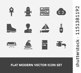 modern  simple vector icon set... | Shutterstock .eps vector #1151381192