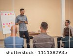 group of people listening to a...   Shutterstock . vector #1151382935