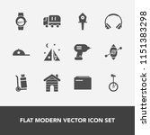 modern  simple vector icon set... | Shutterstock .eps vector #1151383298