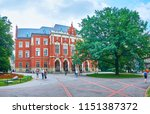 krakow  poland   june 11  2018  ... | Shutterstock . vector #1151387372